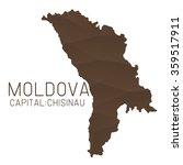 moldova map geometric texture   Shutterstock .eps vector #359517911