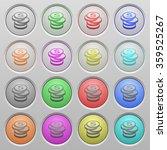 set of dollar coins plastic...
