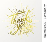 thank you so much  ... | Shutterstock .eps vector #359533679