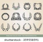 laurel wreaths | Shutterstock .eps vector #359558591
