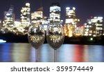 wine overlooking sydney  | Shutterstock . vector #359574449