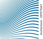 wavy geometric line pattern.... | Shutterstock .eps vector #359575667