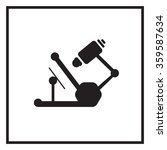 microscope icon | Shutterstock .eps vector #359587634