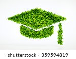 eco education symbol   with... | Shutterstock . vector #359594819