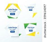 set of label vector design... | Shutterstock .eps vector #359614097