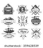 vintage skiing labels and... | Shutterstock .eps vector #359628539