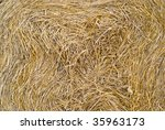 straw texture - stock photo