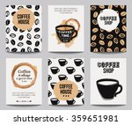 vector set of modern posters... | Shutterstock .eps vector #359651981