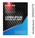 flyer  brochure design... | Shutterstock .eps vector #359653775