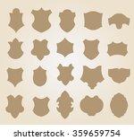 set of vector frames  | Shutterstock .eps vector #359659754