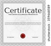 diploma template. modern design....   Shutterstock .eps vector #359668589