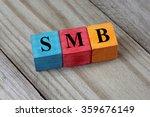 smb text  small medium sized... | Shutterstock . vector #359676149