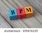 bpm text  business process... | Shutterstock . vector #359676155