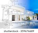 3d rendering of a luxurious... | Shutterstock . vector #359676689