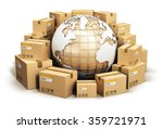 global logistics  shipping and... | Shutterstock . vector #359721971