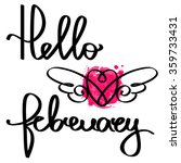 handmade calligraphy and text... | Shutterstock .eps vector #359733431
