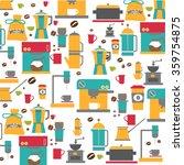 modern coffee machine... | Shutterstock .eps vector #359754875
