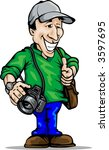 Photographer  Place For Logo On ...