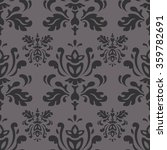 dark grey vector pattern.... | Shutterstock .eps vector #359782691