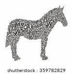horse | Shutterstock .eps vector #359782829