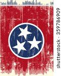 Dirty Flag Of Tennessee . A...