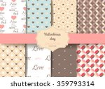 set cute retro abstract... | Shutterstock .eps vector #359793314