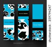 beautiful banner vector... | Shutterstock .eps vector #359794247
