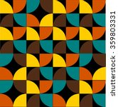 fashion pattern from the 70s... | Shutterstock .eps vector #359803331