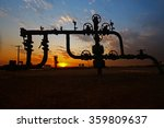 pipes and valves   | Shutterstock . vector #359809637