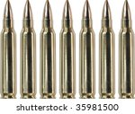 seven bullets | Shutterstock . vector #35981500