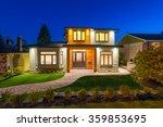 Big Luxury  Modern House At...