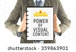 business man with notebook word ... | Shutterstock . vector #359863901