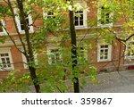 house through leaves | Shutterstock . vector #359867