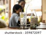 healthy nutrition of drinking... | Shutterstock . vector #359872097