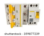 automatic circuit breaker ...   Shutterstock . vector #359877239