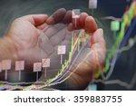 businessman pen point stock...   Shutterstock . vector #359883755