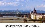 panorama of budapest | Shutterstock . vector #35989822