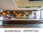 lunch counter at modern... | Shutterstock . vector #359907161