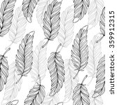 seamless pattern with hand... | Shutterstock .eps vector #359912315