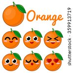 orange character | Shutterstock .eps vector #359913719