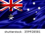 australia flag of silk | Shutterstock . vector #359928581