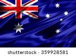Australia Flag Of Silk