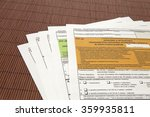 tax declaration  the... | Shutterstock . vector #359935811