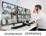 side view of security system... | Shutterstock . vector #359949341