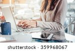 professional business woman at... | Shutterstock . vector #359968067