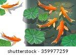 carps koi fish under water....   Shutterstock .eps vector #359977259