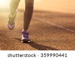 sports woman legs in running... | Shutterstock . vector #359990441