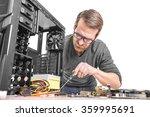 computer repair. computer... | Shutterstock . vector #359995691