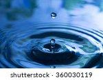 water drop   Shutterstock . vector #360030119