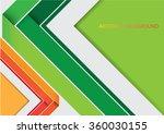 abstract brochure design | Shutterstock .eps vector #360030155